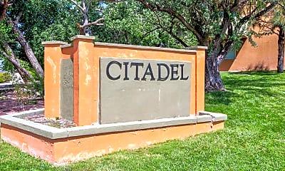 Community Signage, Citadel Apartments, 2