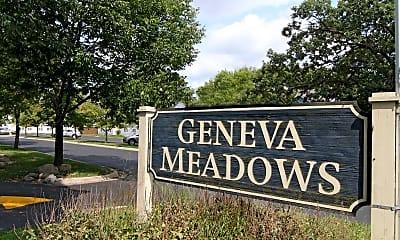 Community Signage, Geneva Meadows Apartments, 1