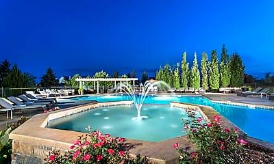 Pool, Aspen Ridge Apartments, 1