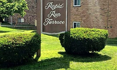 Community Signage, Rapid Run Terrace, 2