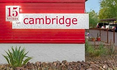 Community Signage, 15 on Cambridge, 0