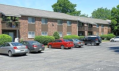 Building, Greenbriar Apartments, 1
