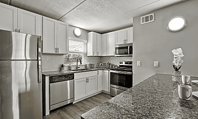 Kitchen, Seaside Apartments, 0