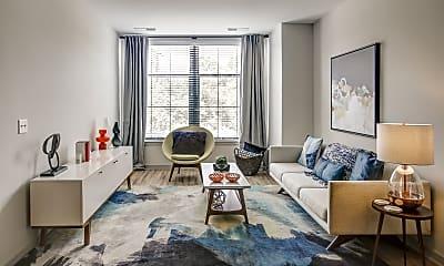 Living Room, The Metropolitan at Rockville Town Center, 1