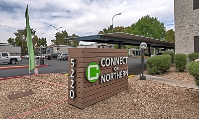 Community Signage, Connect on Northern, 2