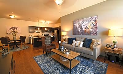 Living Room, Springs at Eagle Bend, 1