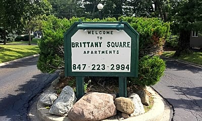 Brittany Square Apartments, 1