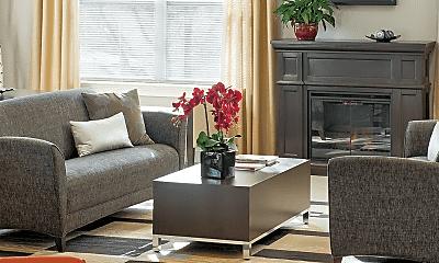 Living Room, The Fairways, 2