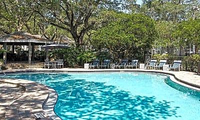 Pool, Oak Ramble Apartments, 0