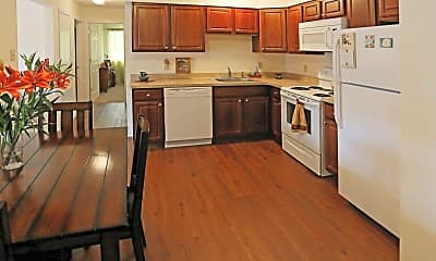 Kitchen, Brookview Apartments, 0