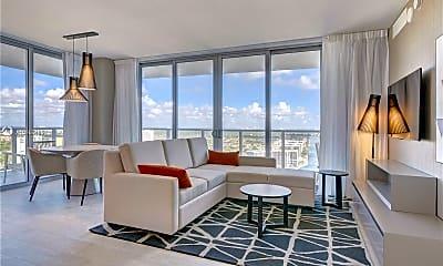 Living Room, 4010 S Ocean Dr R2502, 0