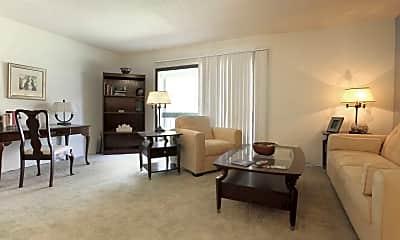 Living Room, Tree Top Apartments, 1