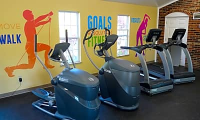 Fitness Weight Room, Village of Coldstream, 2