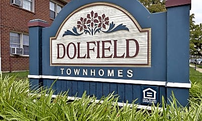 Community Signage, Dolfield Townhomes, 2