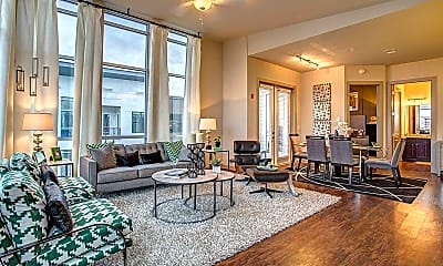 Living Room, 1407 Division St, 0