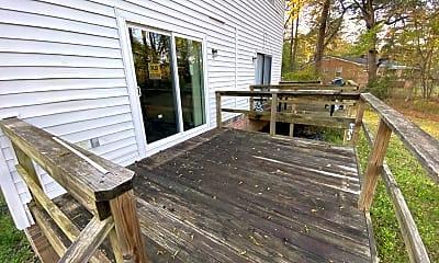 Patio / Deck, 1752 Springwoods Lake Dr, 2