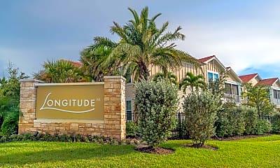 Community Signage, Longitude 81, 1