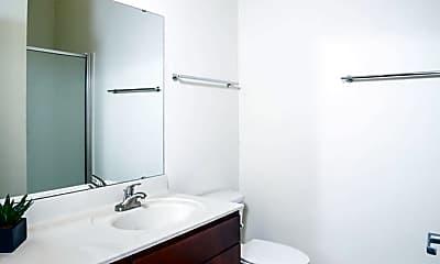 Bathroom, The Rail Student Apartments, 2