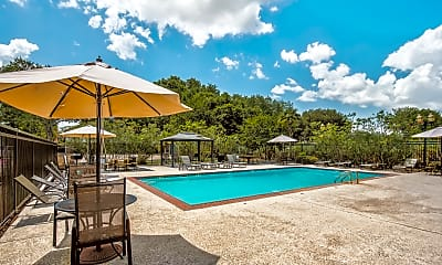 Pool, The Arts Apartments at Bluebonnet Place, 0