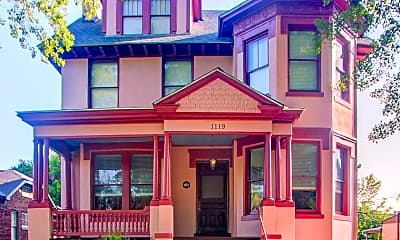 Building, 1119 Greene St, 1