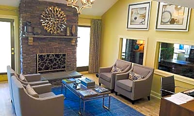 Living Room, The Halsten at Vinings Mountain, 1