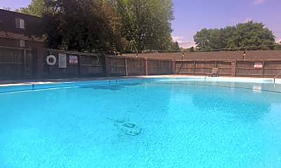 Pool, Greenbriar Apartments, 2