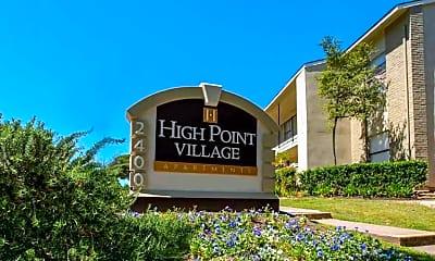 Building, High Point Village, 1