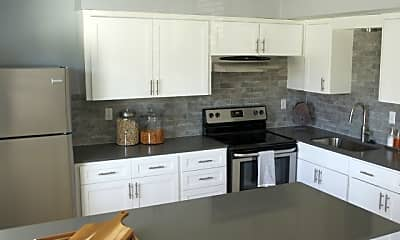 Kitchen, J3 Apartments, 1
