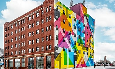 Building, Mid City Apartments, 1