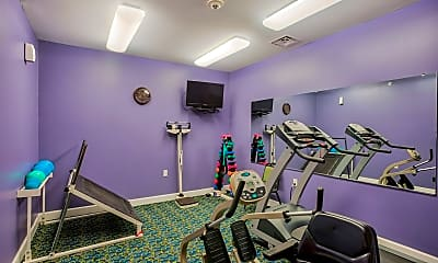 Fitness Weight Room, Lockwood of Clinton Senior Community 50 or Better, 2