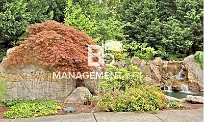Community Signage, 7001 NE Stonewater St, 2
