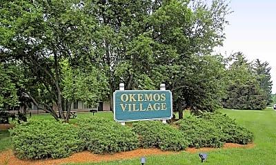 Community Signage, Okemos Village, 2