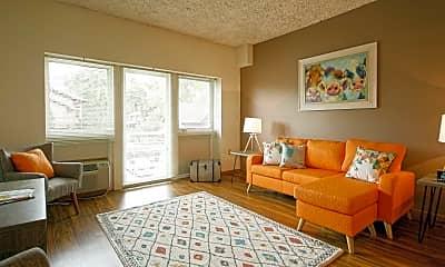 Living Room, Quisling Terrace, 1