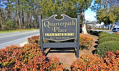 Community Signage, Quarterpath Place Apartments, 1