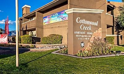 Community Signage, Cottonwood Creek, 0
