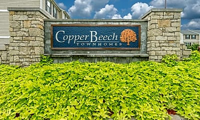 Community Signage, Copper Beech Townhomes, 1