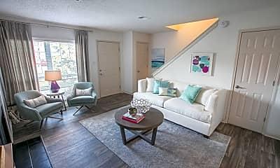 Living Room, Williamsburg Townhomes Rental Homes, 1