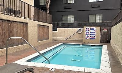 Pool, 2039 N Las Palmas Ave, 2