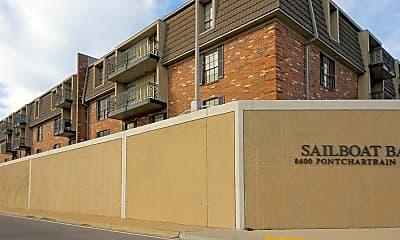 Building, Sailboat Bay Apartments, 2