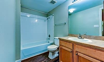 Bathroom, Fall Creek Square, 2