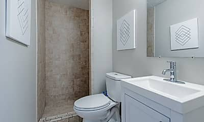 Bathroom, Room for Rent -  a 2 minute walk from bus 178, 1