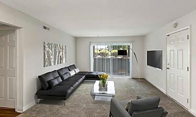 Living Room, Heritage Hill Estates, 0