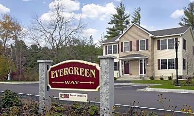 Community Signage, Evergreen Way, 0