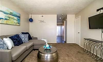Living Room, 5401 50th St D7, 1