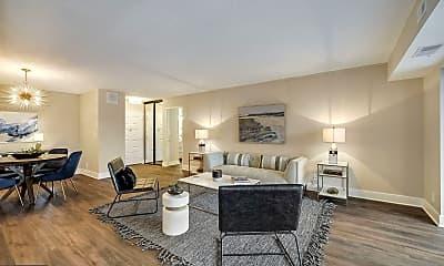 Living Room, 8370 Greensboro Dr 603, 0