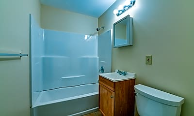 Bathroom, Emunah Manor, 2