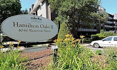 Community Signage, Hamilton Oaks II, 2