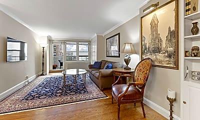 Living Room, 305 E 24th St 10-A, 1