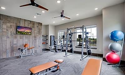Fitness Weight Room, Meridian at Walnut Creek, 1