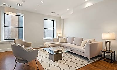 Living Room, 159 W 126th St 3-B, 0